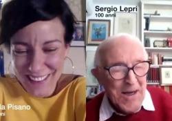 Parlare via Skype e navigare in Rete a 100 anni di età Il dialogo tra due italiani di generazioni diverse: il ministro dell'Innovazione e il giornalista Sergio Lepri - Corriere Tv