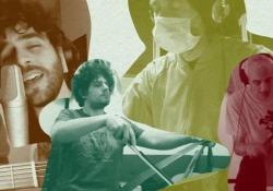 «Vola colomba» interpretato da 30 artisti per il Cotugno di Napoli Il classico di Nilla Pizzi rivisto per beneficienza in anteprima su Corriere.it  - Corriere Tv