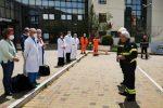 Enna, i vigili del fuoco donano un ventilatore polmonare all'ospedale