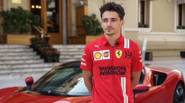 Ferrari, formula 1, Charles Leclerc, Sicilia, Sport