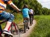 La ripresa parte pedalando
