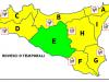 Maltempo in Sicilia, per domani allerta gialla della Protezione civile