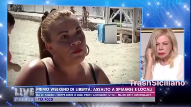 Covid 19, televisione, Sicilia, Società