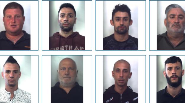 Furti e rapine tra Palermo e Trapani: nomi e foto degli 11 arrestati