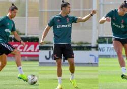 Il canestro di Cristiano Ronaldo. E poi il «Siuu» Il canestro di Cristiano Ronaldo. E poi il «Siuu» - CorriereTV