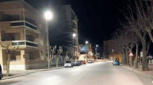 illuminazione, Mazara del Vallo, Trapani, Economia