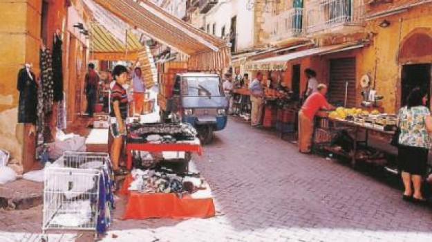 coronavirus, mercati, Caltanissetta, Cronaca
