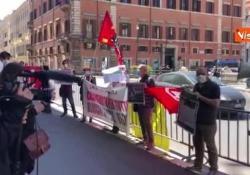 Protesta contro sfratti e affitti, i manifestanti: