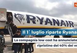 Ryanair da luglio riparte, cosa cambierà a bordo Ecco cosa cambierà a bordo della compagnia low cost - Agenzia Vista/Alexander Jakhnagiev