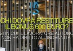 Titolari di reddito di cittadinanza o di altra forma previdenziale: ecco chi dovrà restituire il bonus da 600 euro I casi in cui il lavoratore autonomo non hanno diritto all'indennità - Ansa
