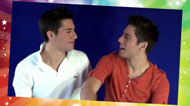 I gemelli Umberto e Daniele Vita