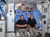 Doug Hurley e Bob Behnken hanno raggiunto i colleghi della Expedition 63 in orbita (fonte: Ivan vagner, Roscosmos)