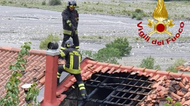incendi, Messina, Cronaca