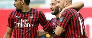 Il Milan si avvicina all'Europa: 2-0 alla Roma
