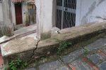 Dissesto idrogeologico, verifiche nel centro storico di Casalvecchio Siculo