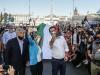 Centrodestra in piazza a Roma contro il governo fra Tricolore, selfie e mascherine