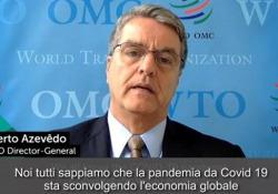 Coronavirus, Wto: «Calo record per il commercio mondiale» Le parole del direttore generale Roberto Azevedo sugli effetti economici della pandemia - Ansa