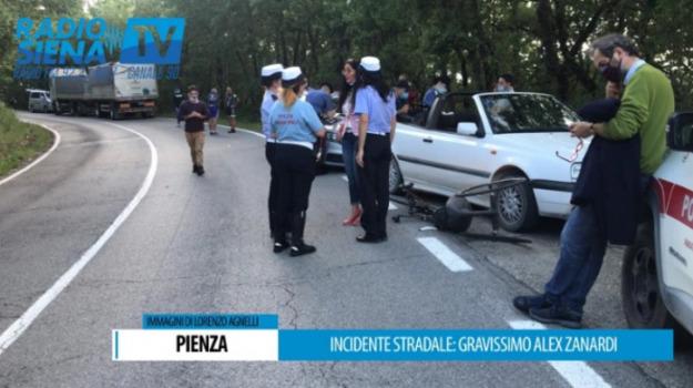 incidente, Alex Zanardi, Sicilia, Cronaca