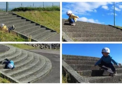 Il bimbo che non si arrende mai: così si scende dai gradini con lo skate Il dolcissimo video del piccolo Rita Ishizuka, 3 anni, cliccato milioni di volte - CorriereTV