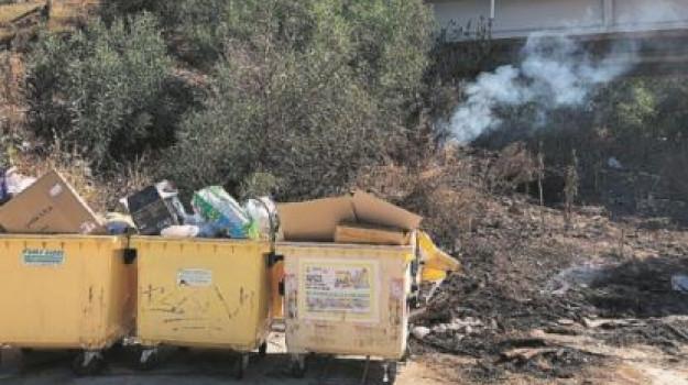 Incendi ad Agrigento e Sciacca, indagini sulle cause