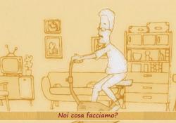 «L'Umarell» di Fabio Concato diventa un corto animato  La toccante canzone dedicata agli italiani è ora anche un delicato video di animazione, regalo del vignettista bergamasco Adriano Merigo - Corriere Tv