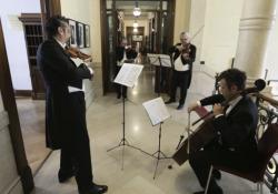 La Filarmonica della Scala al Corriere Gli archi della Filarmonica scaligera interpreti di pagine di Verdi e Paganini - CorriereTV