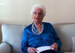 Maturità 2020, Liliana Segre ai ragazzi: «Vi faccio gli auguri da nonna» Il messaggio, rivolto ai maturandi, della senatrice a vita - Ansa
