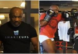 Mike Tyson: il video del suo ultimo allenamento sembra il trailer di un film Velocità e potenza: il 53enne ha annunciato di voler tornare a combattere per beneficenza - CorriereTV