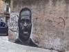 """A Ballarò un murale con il volto di George Floyd: """"Il razzismo è il virus più pericoloso"""""""