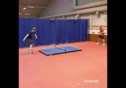 Ping pong, il tavolo è a terra: ecco il Floor Pong In Finlandia hanno pensato a una modalità diversa di ping pong - Dalla Rete