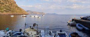 Il mare dell'isola di Salina