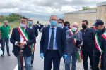 """Riapre la statale Nord-Sud, Falcone: """"Adesso a lavoro per gli altri lotti della Ss 117"""""""