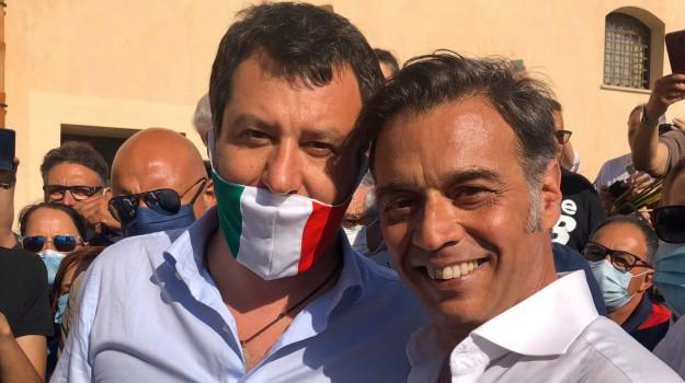 Lega, Stefano Santoro, Sicilia, Politica