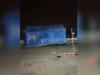 Maltempo a Palermo, il vento trascina via la tenda Covid dell'ospedale Cervello