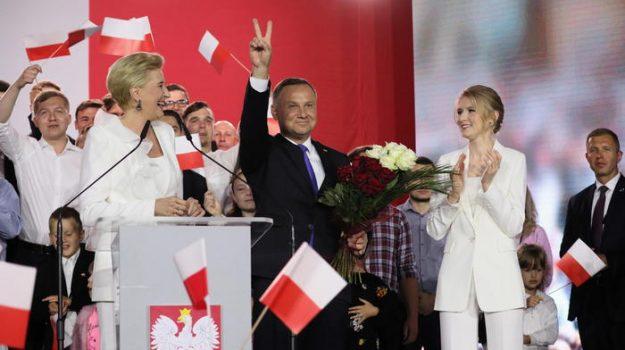 Polonia, Andrzej Duda, Sicilia, Mondo