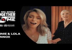 Annie Lennox e la figlia Lola duettano al «One world: together at home»  - Corriere Tv