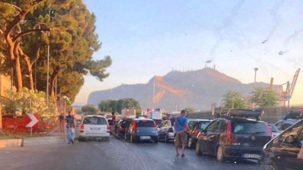 TRAFFICO, trasporti, Palermo, Cronaca