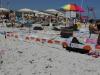 Nastri e picchetti per distanze in spiaggia, kit in vendita