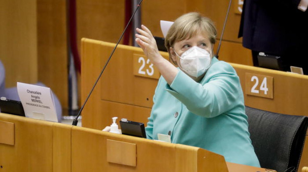coronavirus, Angela Merkel, Sicilia, Mondo