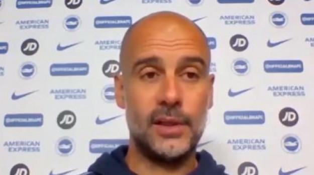 Il City escluso dalla Coppe, Guardiola: