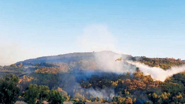 incendi, Agrigento, Cronaca