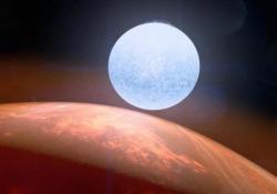 Kelt-9b, ecco com'è il pianeta rovente a 670 anni luce dalla Terra: le immagini ricostruite dalla Nasa Il corpo celeste orbita intorno alla stella KELT-9 - Agenzia Vista/Alexander Jakhnagiev