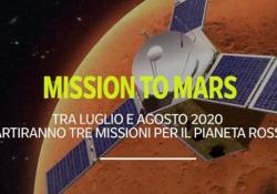Mission to Mars: Cina, Nasa ed Emirati Arabi in viaggio verso il Pianeta Rosso nel 2020 Cina ed Emirati Arabi verso la loro prima missione su Marte - Ansa