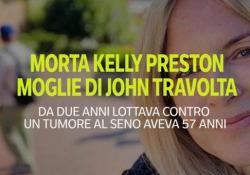 Morta Kelly Preston, moglie di John Travolta da 29 anni  L'attrice lottava da due anni contro un tumore al seno - Ansa