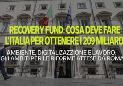 Recovery Fund: il piano di riforme che serve all'Italia per non perdere i 209 miliardi Atteso a Bruxelles per l'autunno: ambiente, lavoro e digitale i temi base - Ansa