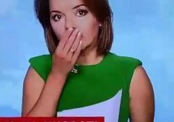 Ucraina, la conduttrice perde un dente in diretta e prosegue come se nulla fosse Protagonista della disavventura Marichka Padalko che su Instagram scrive: «Pensavo che nessuno avrebbe notato l'incidente» - Dalla Rete