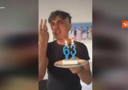 Vincenzo Salemme spegne le candeline dei 63: «Viva la vita. Speriamo che le cose vadano meglio» Auguri all'attore e comico che compie 63 anni - Agenzia Vista/Alexander Jakhnagiev