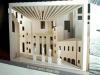 Una foto del progetto dell architetto giapponese Arata Isozaki della loggia degli Uffizi, la copertura pensata per la nuova uscita del museo