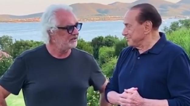 coronavirus, Flavio Briatore, Silvio Berlusconi, Sicilia, Cronaca