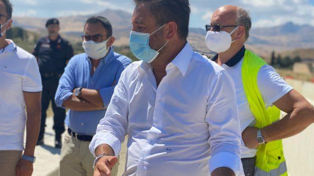 infrastrutture, Giancarlo Cancelleri, Agrigento, Caltanissetta, Politica